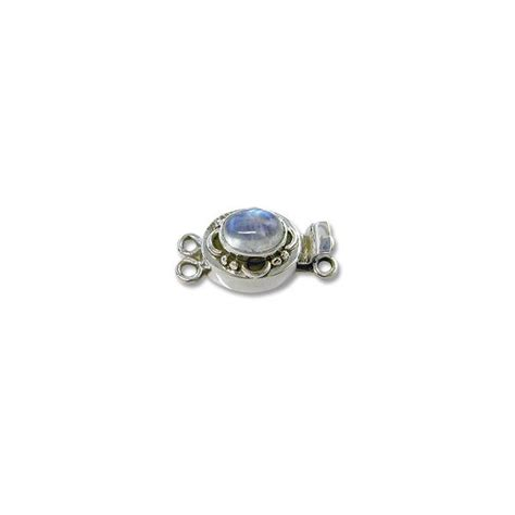 sterling silver jewelry supplies wholesale designer clasp with moonstone 20mm 2 strand sterling