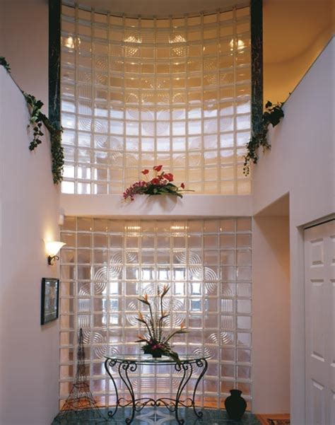 glass block patterns amp designs for interior window wall