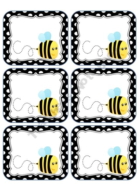 printable labels for kindergarten classroom labels for take home folders insects pinterest