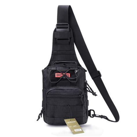 edc sling pack onetigris edc sling tactical molle shoulder bag outdoor
