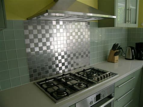 mb001 silver brushed metal mosaic tiles stainless steel