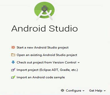 getting started with android studio android adventures getting started with android studio 2