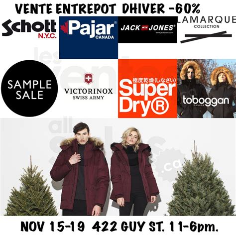 Sample Sale: Outerwear at up to 60% off   allsales.ca
