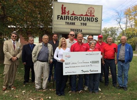 Toyota Community Grants Toyota Indiana Grants Total 100 000 In Second Quarter