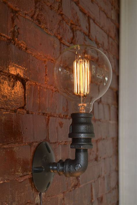 Industrial Wall Sconce Lighting Aliexpress Buy Loft Vintage Nostalgic Industrial Lustre Water Pipe Edison Wall Sconce L