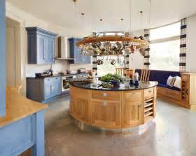 round kitchen island design alluring modern round kitchen