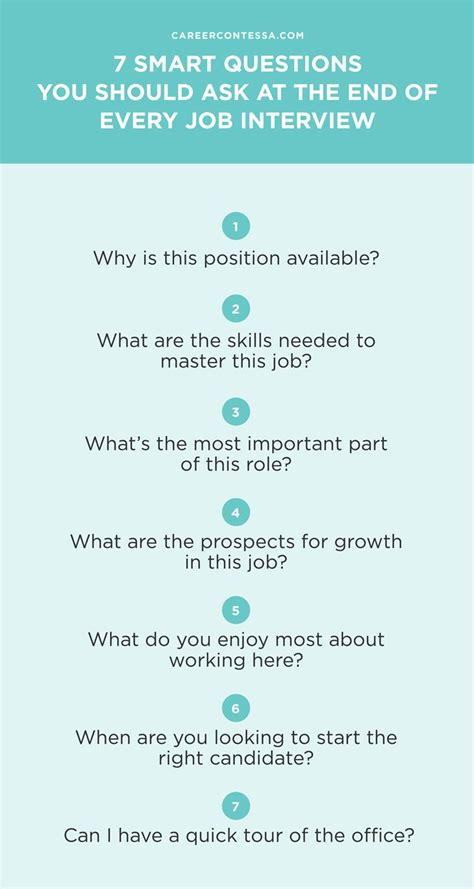 top questions to ask employer after job interview