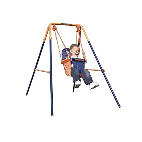 hedstrom swing set accessories hedstrom folding toddler swing by hedstrom