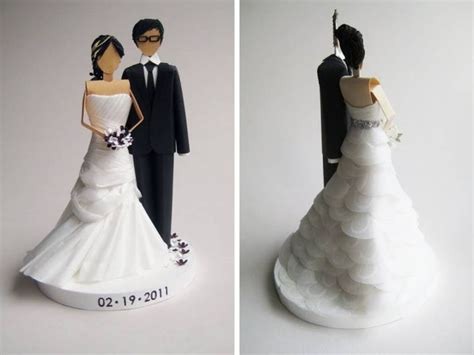 Handmade And Groom Cake Toppers - wedding cake toppers that are out of this world onewed