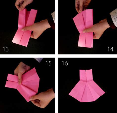 cara membuat origami gaun membuat origami berbentuk baju gaun anak acika kidsshop