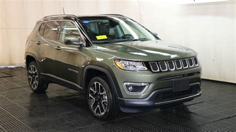 jeep compass limited 2018 jeep compass limited sport utility in braintree