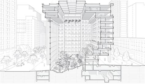 notre dame du haut floor plan in contemporary architecture the section is the generator metropolis