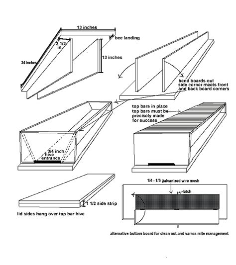 Top Bar Hive Plans by Plan Ideas