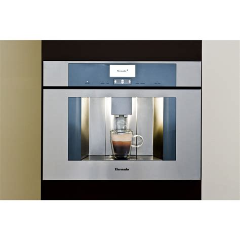 "TCM24RS   Thermador 24"" One Touch Fully Automatic Built In Coffee Machine"