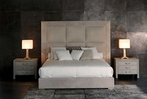Home Decor Forums Upholstered Beds Rugiano Italy Wood Furniture Biz