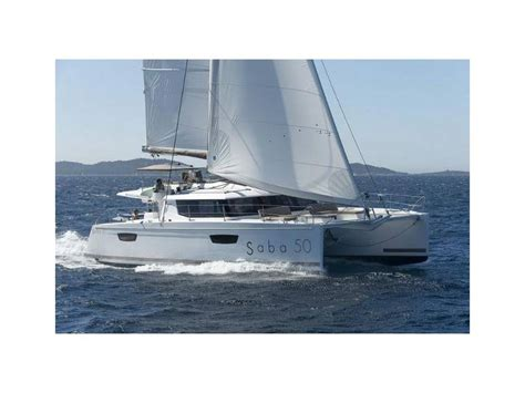 catamaran for sale in spain fountaine pajot saba 50 in spain catamarans sailboat