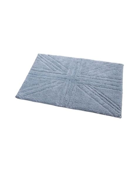 Grey Union Rug by Cotton Washable Tufted Rug Union Plain Embossed Mat Silver Grey Homescapes