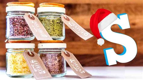 flavoured salts recipe diy christmas food gifts food videos