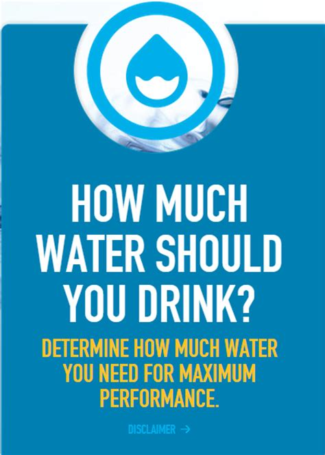 hydration needs calculator how much water do you need to drink hiking