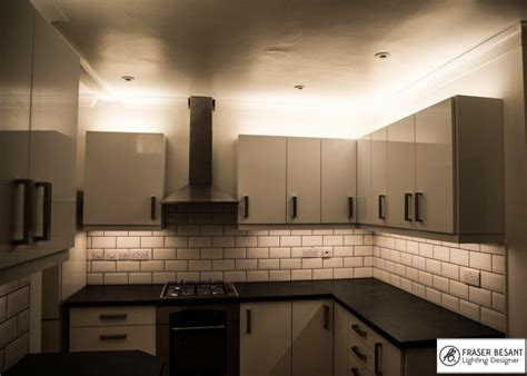 2700k Led Tape Top And Bottom Of Kitchen Units Unit Lighting Kitchen