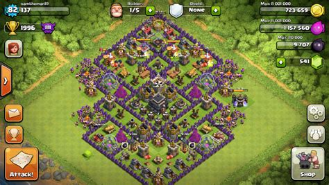 layout strategy for clash of clans clash of clans tips town hall level 9 layouts