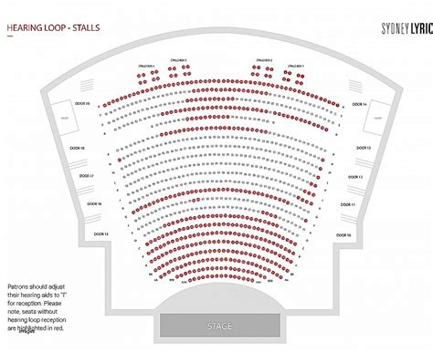 Sydney Opera House Seating Plan Sydney Opera House Joan Sutherland Theatre Seating Plan Escortsea