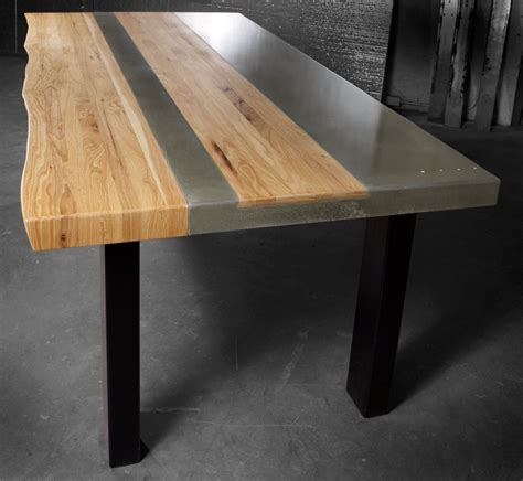 Concrete And Wood Dining Table Concrete And Wood Table 2017 2018 Best Cars Reviews