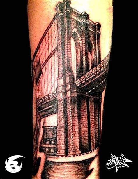 brooklyn bridge tattoo architecture tattoos bridge