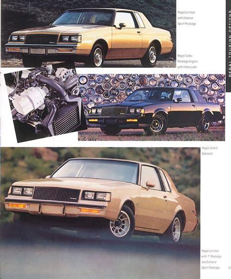 electric and cars manual 1987 buick regal free book repair manuals directory index buick 1987 buick 1987 hot buick brochure