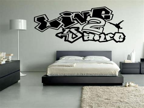 graffiti interiors home art murals and decor ideas live 2 dance vinyl wall decal graffiti hip hop break dance
