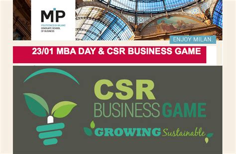 Day In The Bay Mba 2016 by Csr At The Of The Mba Day Growingleader