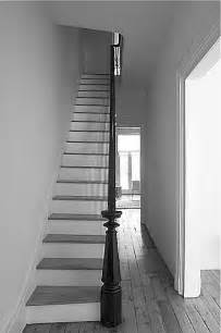 How To Install Banister On Stairs Should You Install Gray Wood Floors Maria Killam The