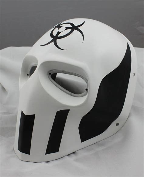 7 Cool Masks by Cool White Prop Paintball Airsoft Pc Lens Eye