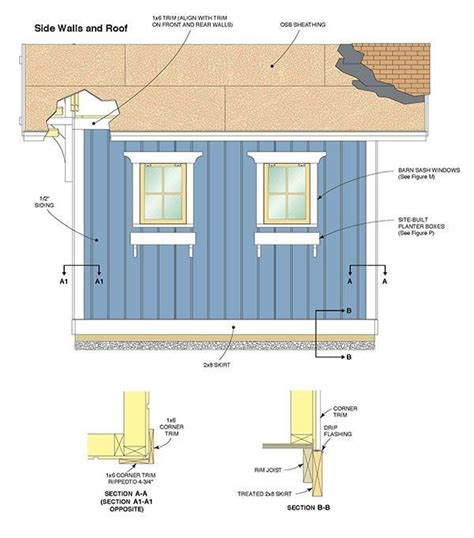 10 By 12 Shed Floor - 10 215 12 storage shed plans blueprints for constructing a
