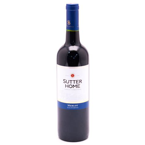 sutter home family vineyards 750ml wine and