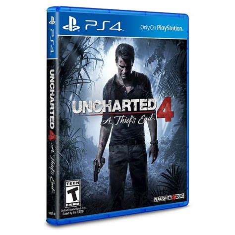 Plan View by Uncharted 4 A Thief S End Playstation 4 Target