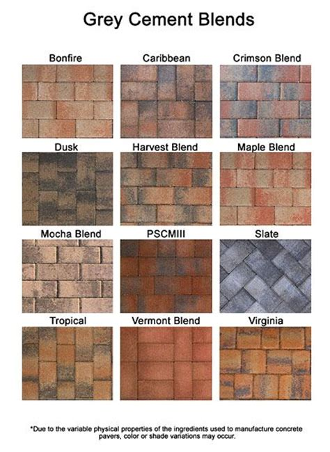 brick paint colors colored pavers brick paver colors install pavers brick