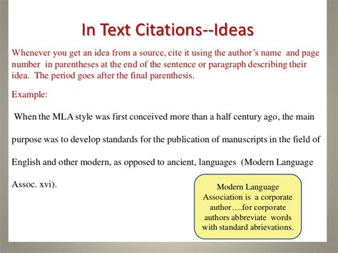 Essay In Text Citation Mla by How To Quote A Web Page In An Essay