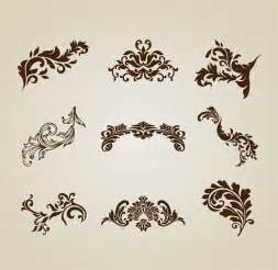 designing the beautiful vintage beautiful design elements vector set free vector graphics all free web resources for