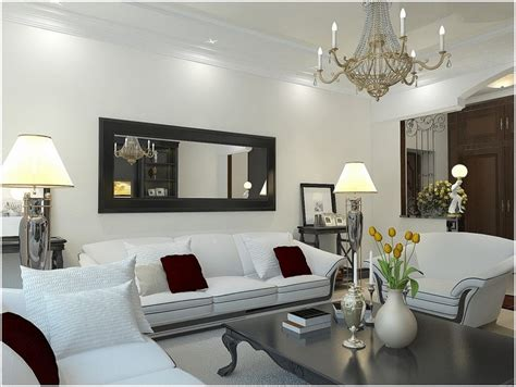 mirror above living room how to decorate your living room with black mirrors home decor ideas