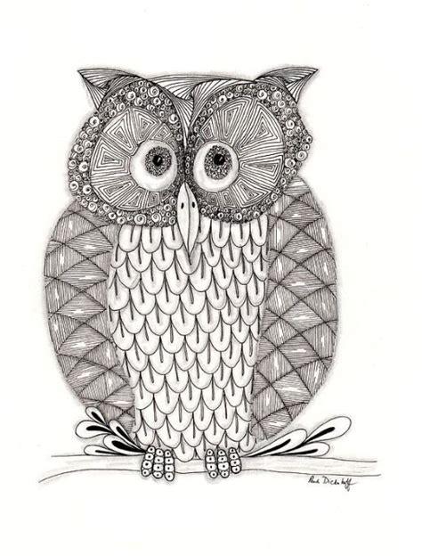zentangle owl pattern 153 best zentangle owls images on pinterest owls birds