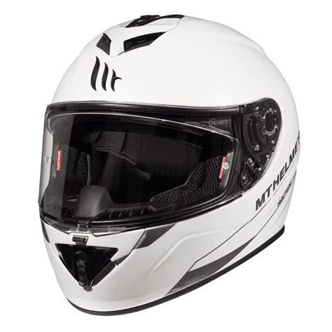 mt kask rapide kapali motosiklet kaski beyaz