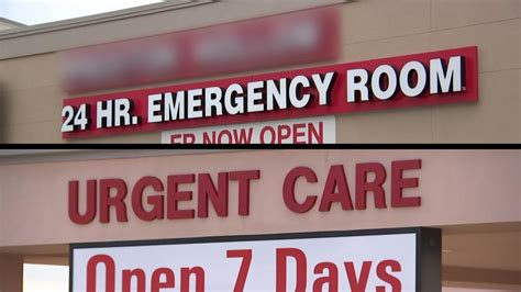 freestanding emergency rooms freestanding emergency rooms can be confusing costly nbc 5 dallas fort worth