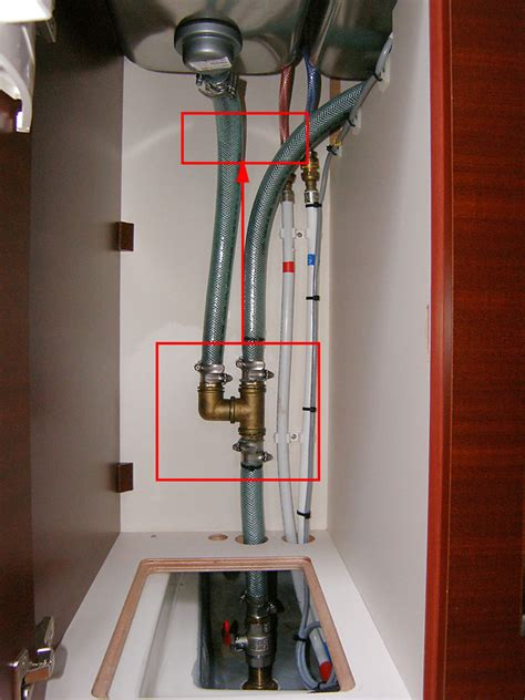 kitchen sink connections kitchen sink hose connections myhanse hanse yachts