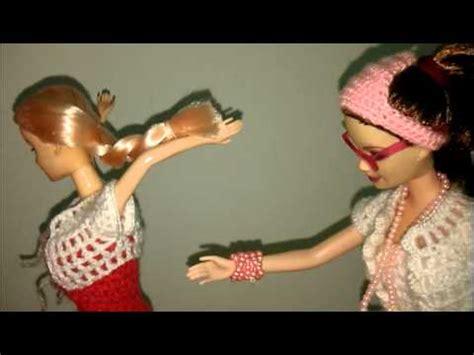 tutorial merajut boneka tutorial crochet clothes pattern free for barbie doll
