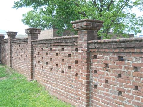 39 Awesome Brick Fence Capping Images Garden Pinterest Types Of Bricks For Garden Walls