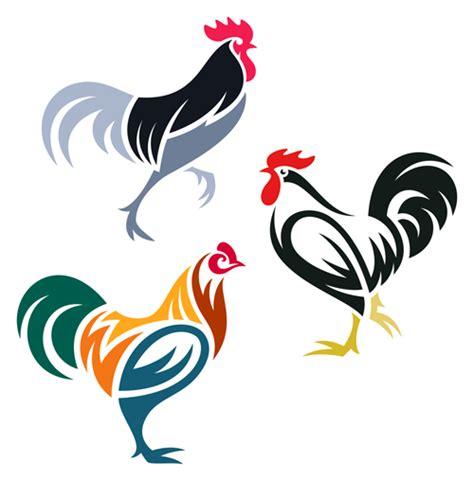 design logo eps creative chicken logos vector design 01 vector animal