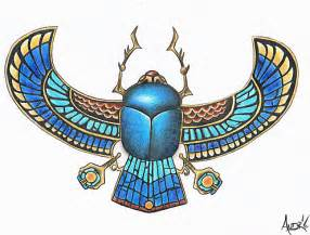 stone scarab with wings by 1shotandree on deviantart