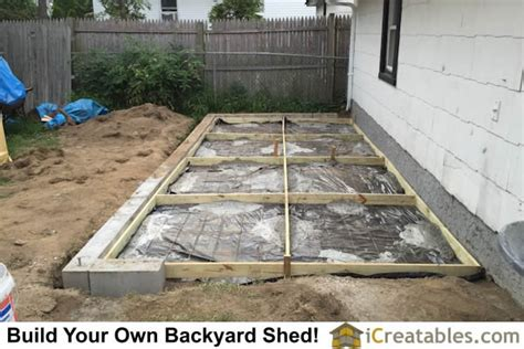 Cement Pad For Shed by Pictures Of Lean To Sheds Photos Of Lean To Shed Plans