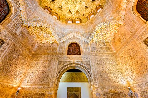 Honeycomb Ceiling by Labyrinth Of The Alhambra The Fortress Beneath The Palace